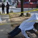 Homeless Man Dies