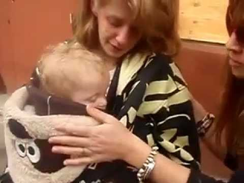 Homeless Mother & Baby (video)
