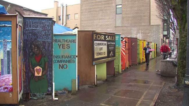 Tent City Portland (Video)